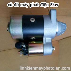 Củ đề máy phát điện xăng 5kw