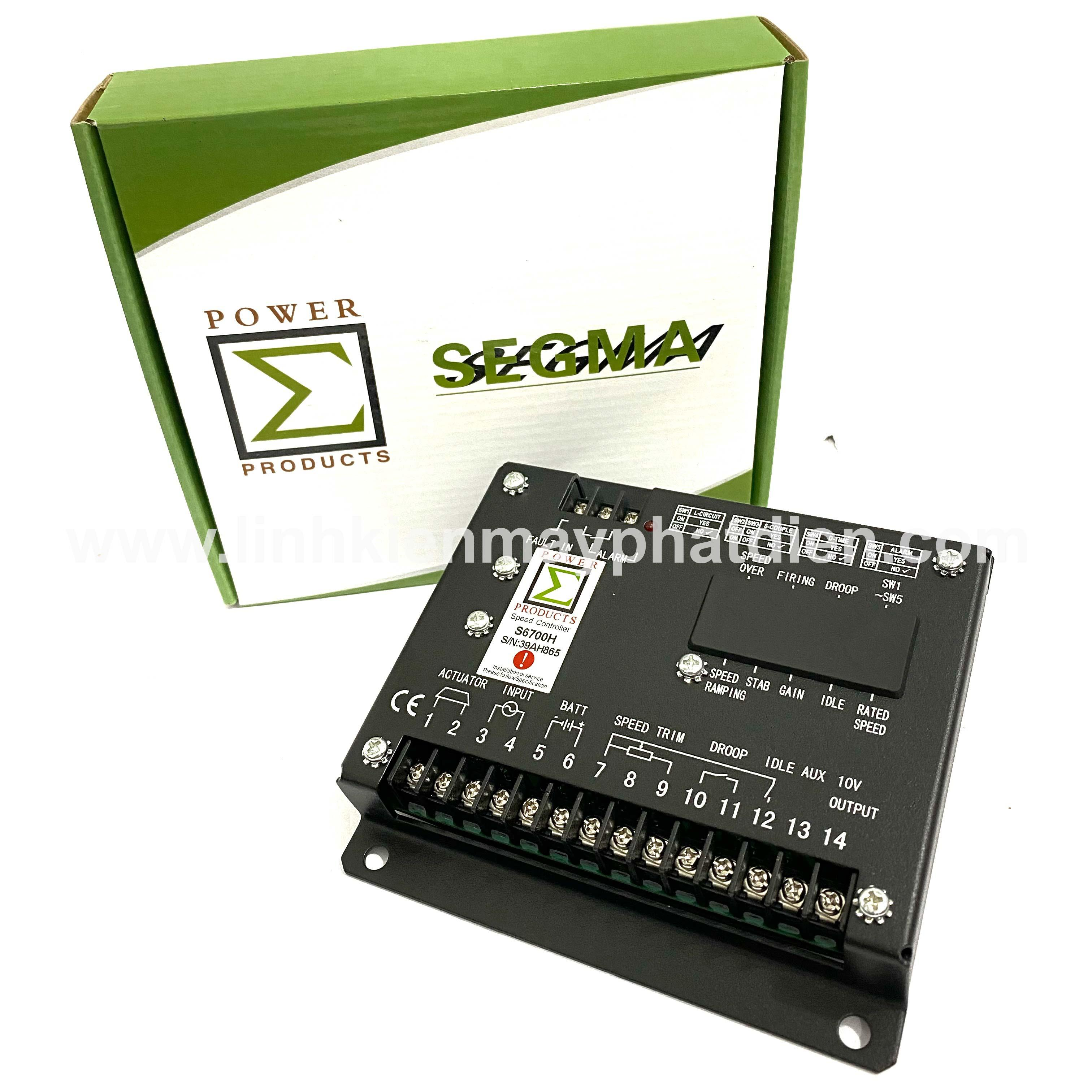 Bộ điều Tốc máy phát điện S6700H Loại II