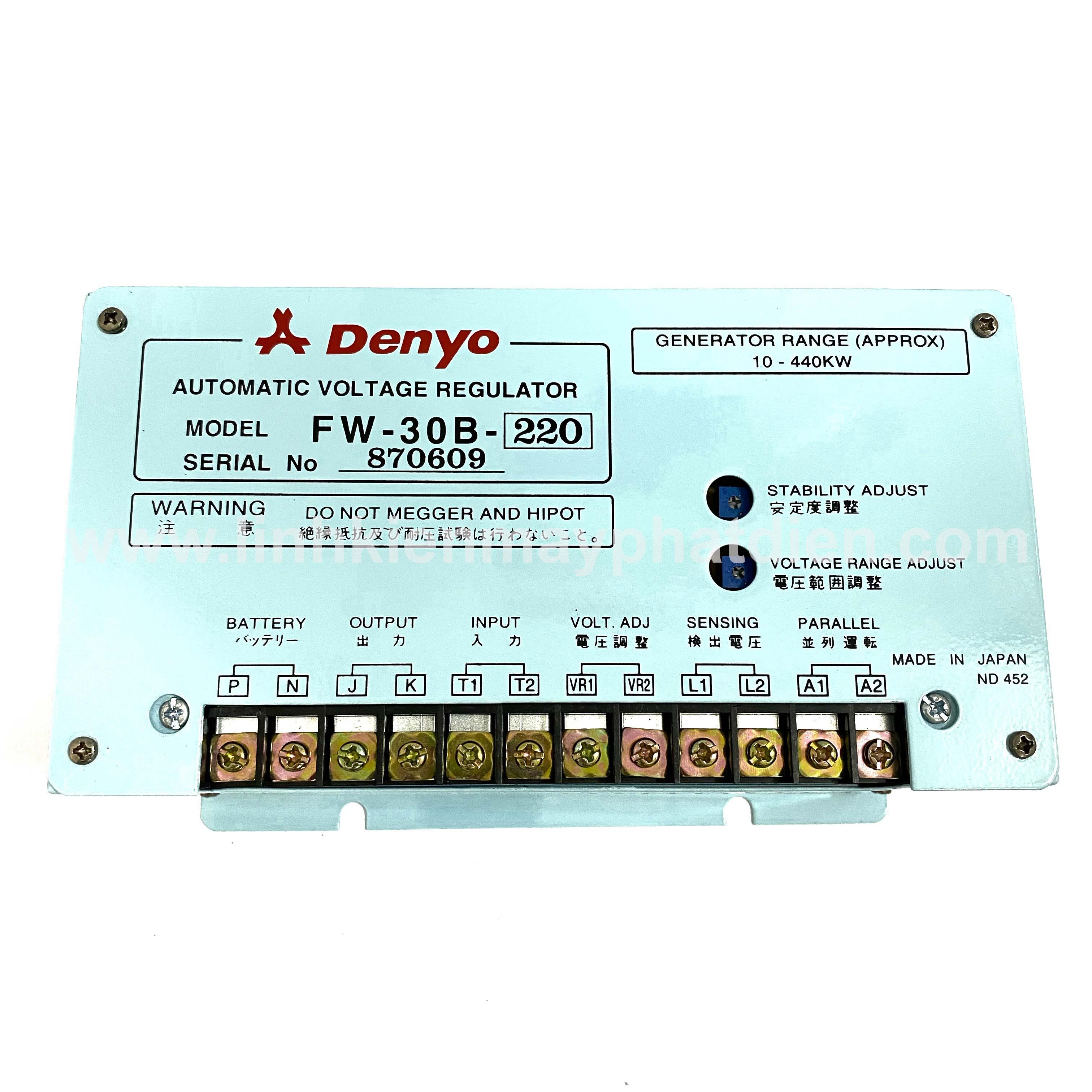 Mạch AVR Denyo 30A/180V ( Đơn )