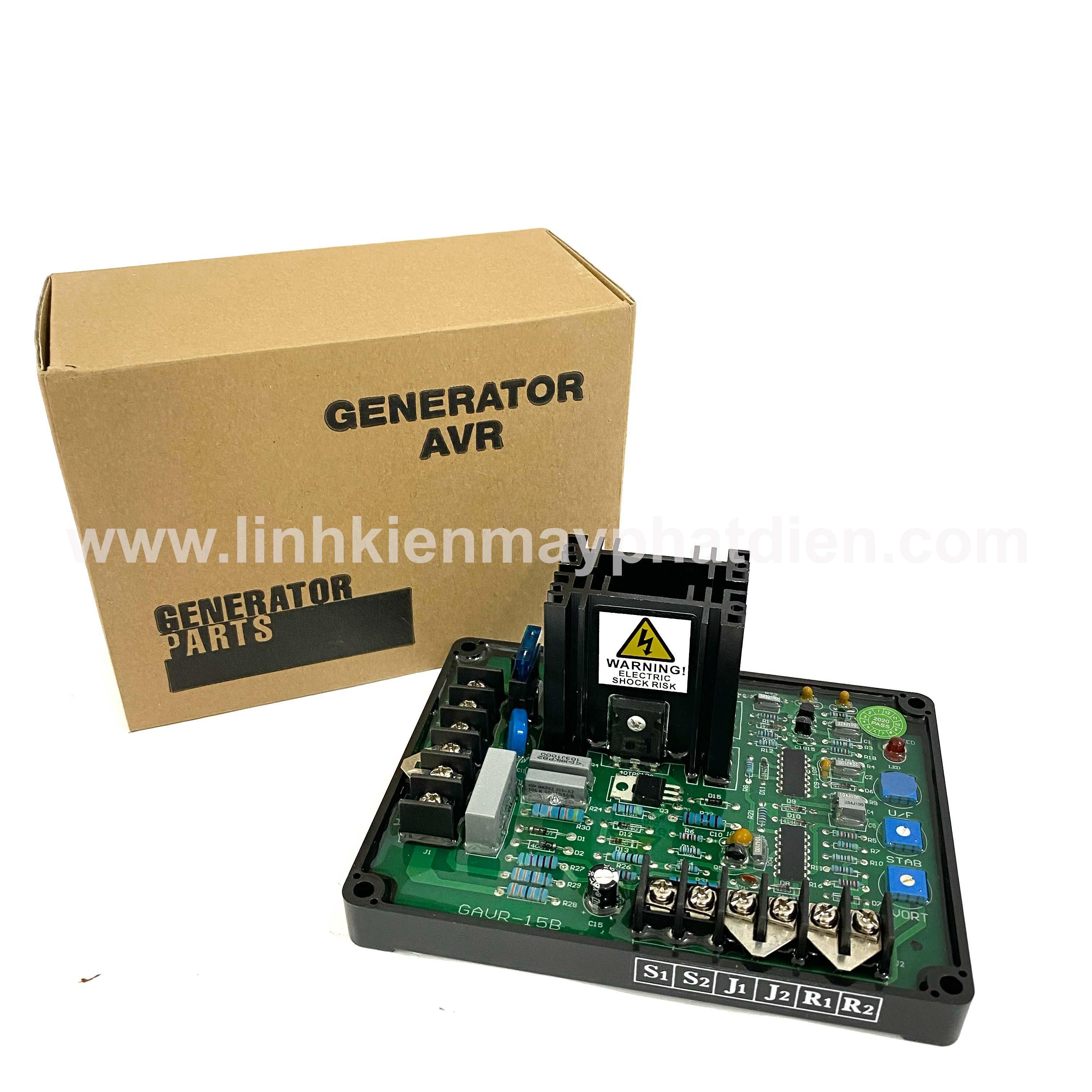 Mạch điều chỉnh điện áp máy phát điện GAVR- 15B