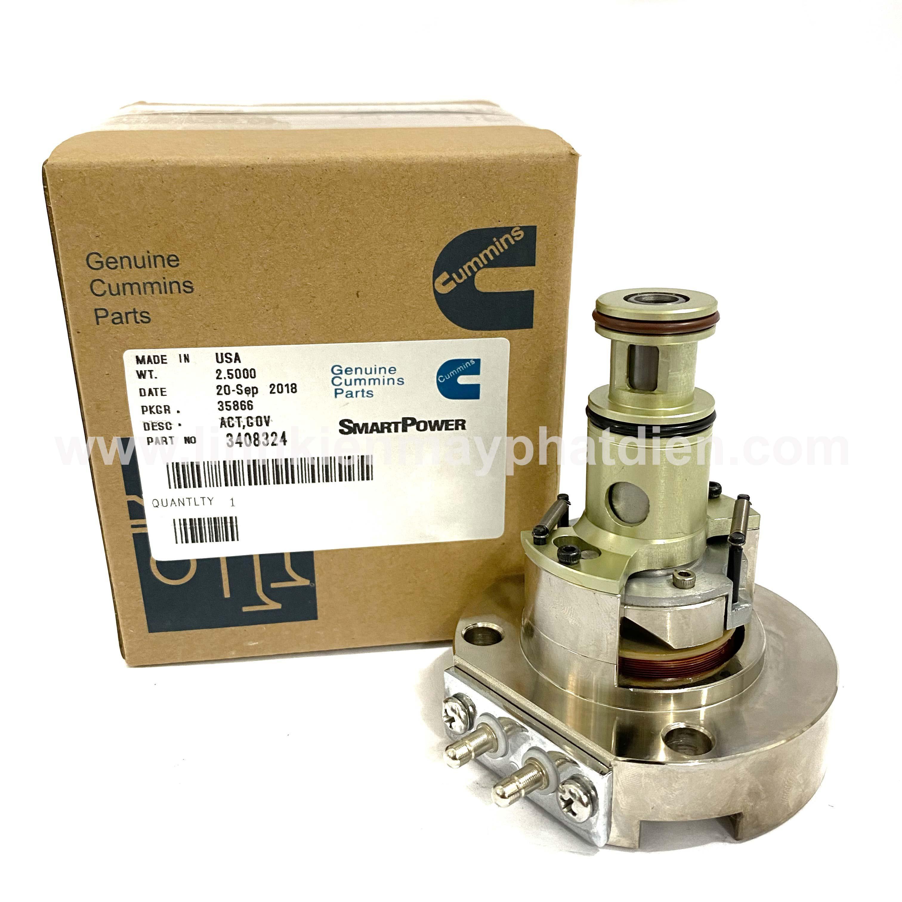 Actuator máy phát điện 3408324