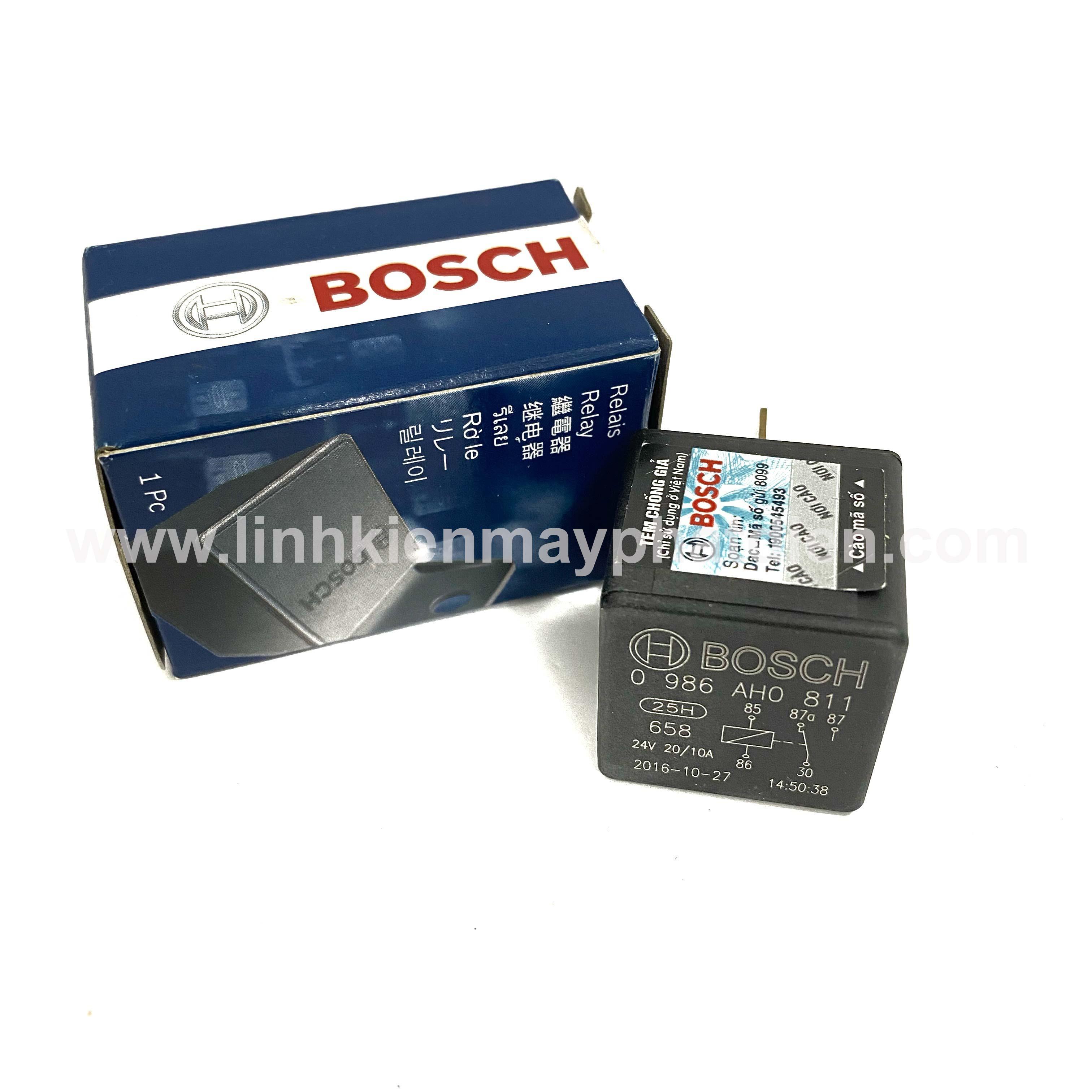 Rơ le máy phát điện BOSCH 24V Loại 2