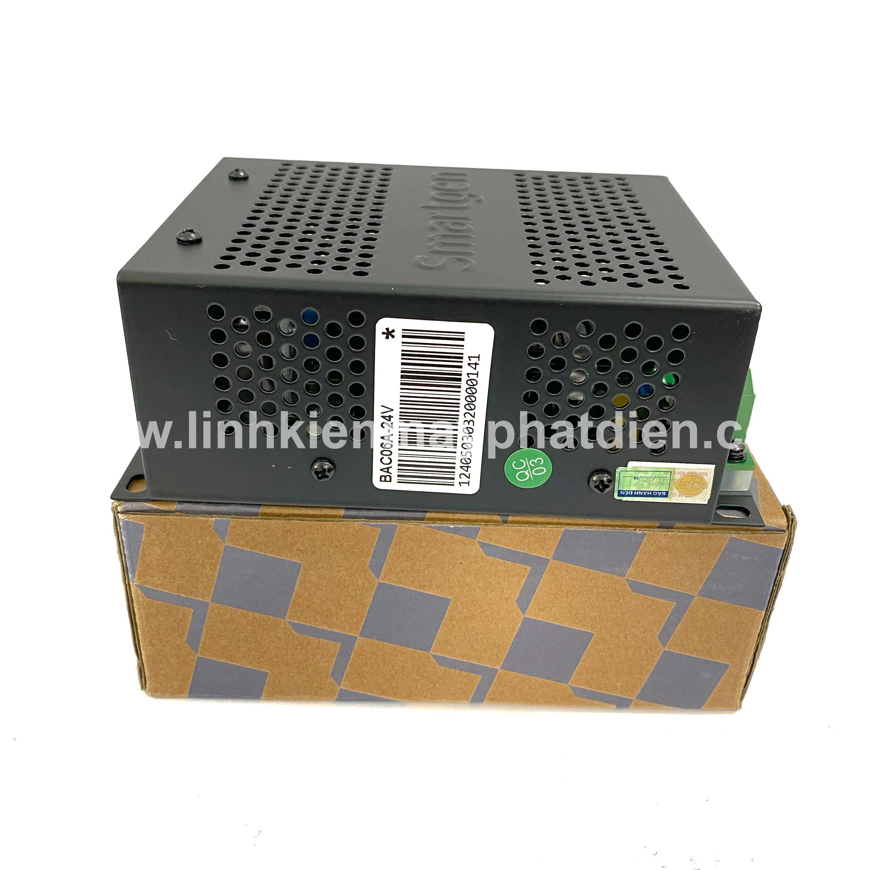 Bộ sạc máy phát điện Smartgen BAC06A 24V