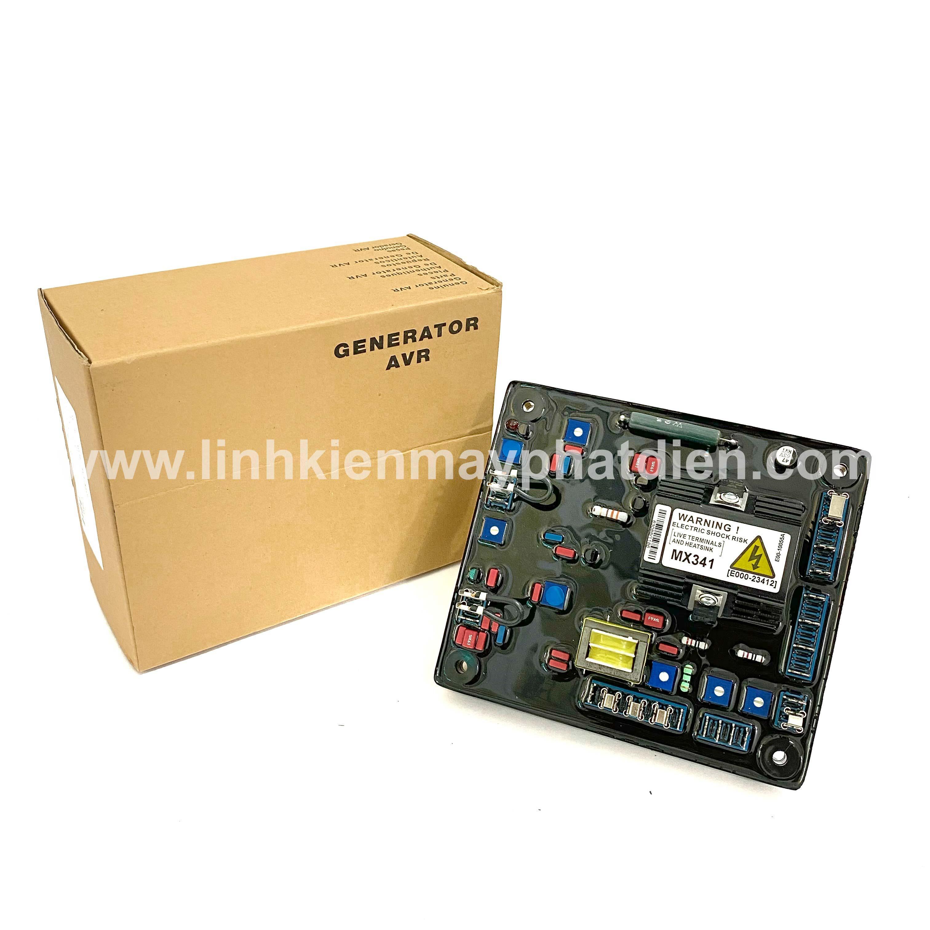 Bộ điều chỉnh điện áp AVR Stamford MX341 (Màu Đỏ)